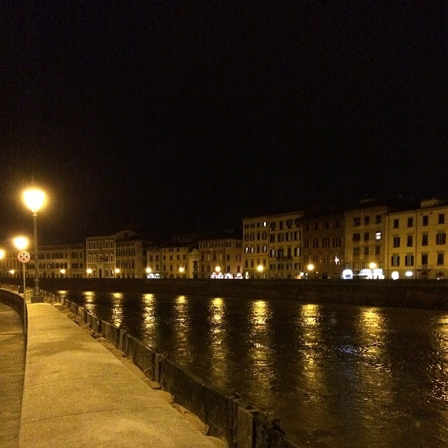 Pisa by night  #nofilter #justtaken